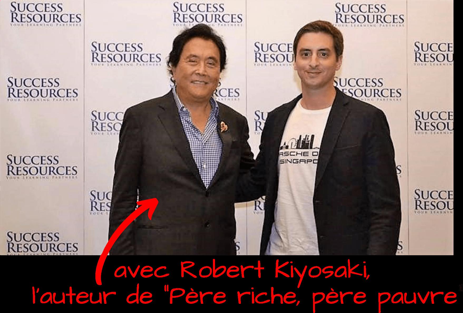 Fabien Oiban Robert Kiyosaki